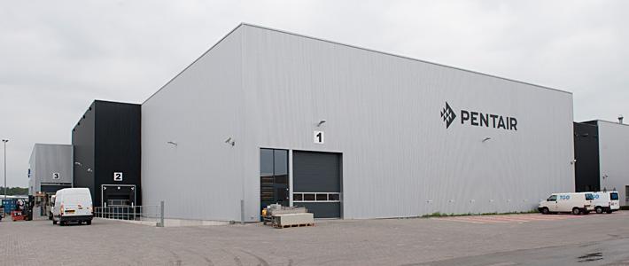 Bedrijfspand Pentair Enschede