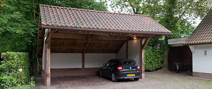 Carport bouwen exclusief - Bouwbedrijf Lammersen