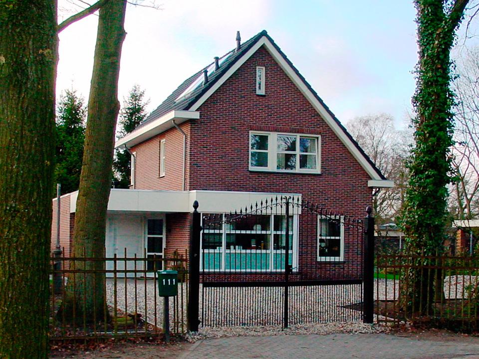 Vrijstaande woning bouwen bouwbedrijf lammersen for Budget huis bouwen