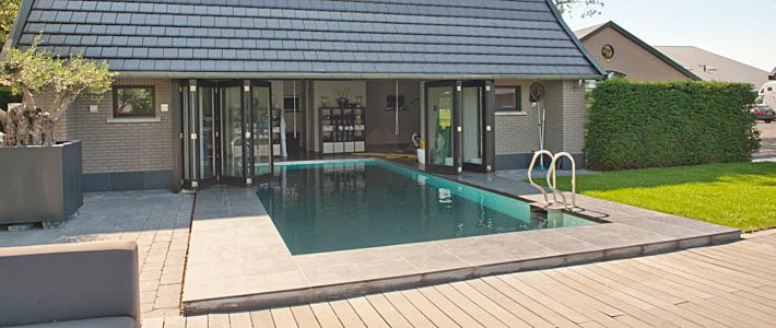 Zwembad bouwen bouwbedrijf lammersen for Inbouw zwembad zelf bouwen