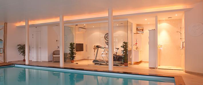 Fitness en ontspanningsruimte